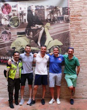 2 Giugno 2018 Cav. Giuseppe Cau Visita Il Museo Vite Da Vespa (61)