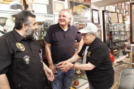 2 Giugno 2018 Cav. Giuseppe Cau Visita Il Museo Vite Da Vespa (73)