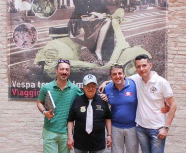 2 Giugno 2018 Cav. Giuseppe Cau Visita Il Museo Vite Da Vespa (81)