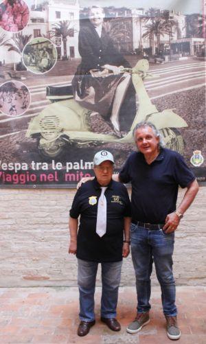 2 Giugno 2018 Cav. Giuseppe Cau Visita Il Museo Vite Da Vespa (86)