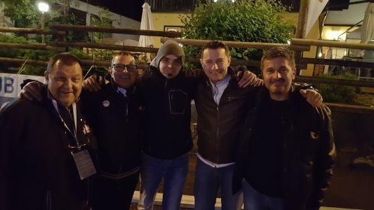 Quirino Jacopo Remo Insieme Agli Amici Del Vespa Club Treviso
