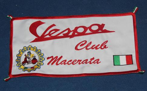Bandiera Vespaclub Macerata